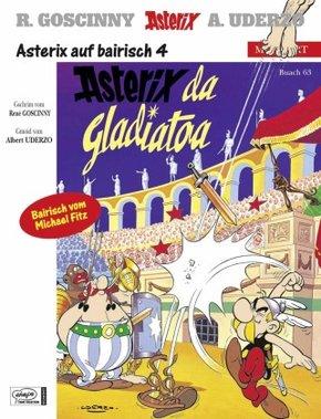 Asterix Mundart - Asterix da Gladiatoa