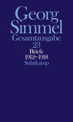 Gesamtausgabe: Briefe 1912-1918, Jugendbriefe; Bd.23