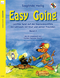 Easy Going, für Sopranblockflöte, m. Audio-CD - Bd.2