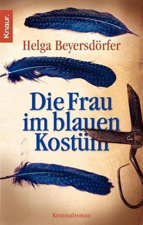 Beyersdörfer, Frau im blauen Kostüm