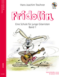 Fridolin, für Gitarre, m. Audio-CD - Bd.1