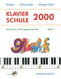 Klavierschule 2000, m. 2 Audio-CDs - Bd.1
