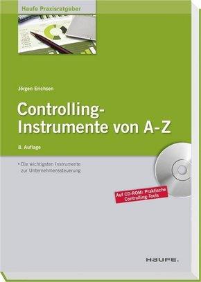 Controlling-Instrumente von A-Z, m. CD-ROM