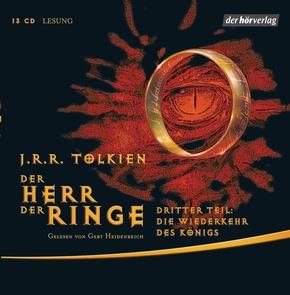 Der Herr der Ringe, Die Wiederkehr des Königs, 13 Audio-CDs