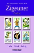 Zigeuner Orakel, Wahrsagekarten u. Buch