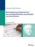Bönninghausens Repertorium der homöopathischen Arzneimittel
