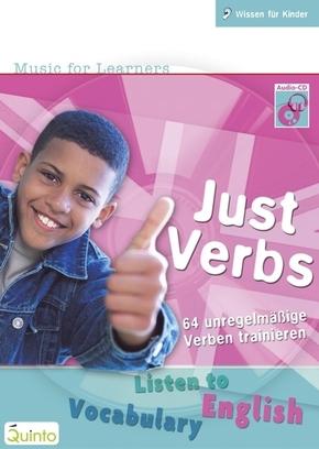 Just Verbs, Audio-CD