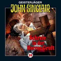 Geisterjäger John Sinclair - Schreie in der Horror-Gruft, 1 Audio-CD