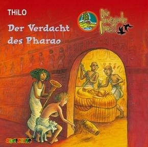 Die magische Insel, Audio-CDs: Der Verdacht des Pharao, 2 Audio-CDs; 4