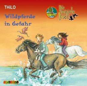 Die magische Insel, Audio-CDs: Wildpferde in Gefahr, 2 Audio-CD; 3