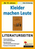 Gottfried Keller 'Kleider machen Leute', Literaturseiten