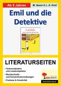 Erich Kästner 'Emil und die Detektive', Literaturseiten