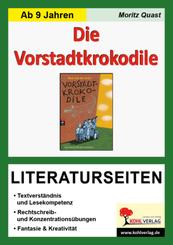 Max von der Grün 'Die Vorstadtkrokodile', Literaturseiten