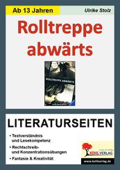 Hans-Georg Noack 'Rolltreppe abwärts', Literaturseiten
