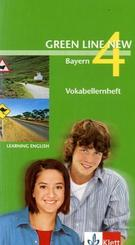 Green Line New, Ausgabe für Bayern: Vokabellernheft, 8. Schuljahr; Bd.4