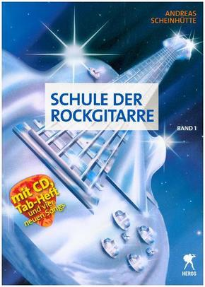 Schule der Rockgitarre, m. Audio-CD - Bd.1