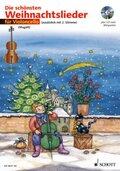 Die schönsten Weihnachtslieder, Notenausg. m. Audio-CDs: Für Violoncello, m. Audio-CD