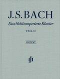 Das Wohltemperierte Klavier, mit Fingersätzen: BWV 870-893; Tl.2