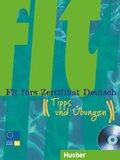 Fit fürs Zertifikat Deutsch, neue Rechtschreibung: Tipps und Übungen, m. Audio-CD