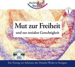 Mut zur Freiheit und zur sozialen Gerechtigkeit, 1 Audio-CD