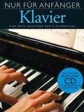 Nur für Anfänger, Klavier, m. Audio-CD