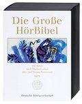 Bibelausgaben: Die große Hörbibel, Die Bibel nach Martin Luther, Altes und Neues Testament, 8 MP3-CDs; Deutsche Bibelgesellschaft