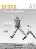 Prima - Deutsch für Jugendliche/junge Erwachsene: Testheft, m. Audio-CD; Bd.1/2