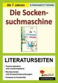 Knister 'Die Socken-Suchmaschine', Literaturseiten