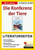 Erich Kästner 'Konferenz der Tiere', Literaturseiten