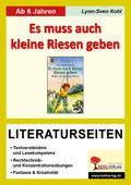 Irina Korschunow 'Es muss auch kleine Riesen geben', Literaturseiten