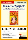 Wolfgang Pauls 'Kommissar Spaghetti und das Schwein im Lehrerzimmer',  Literaturseiten