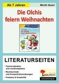 Erhard Dietl 'Die Olchis feiern Weihnachten', Literaturseiten