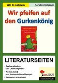 Christine Nöstlinger 'Wir pfeifen auf den Gurkenkönig', Literaturseiten