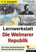 Lernwerkstatt Die Weimarer Republik