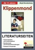 Annelies Schwarz 'Klippenmond', Literaturseiten