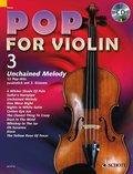 Pop for Violin, m. Audio-CD - Vol.3