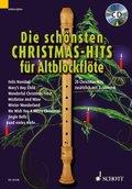 Die schönsten Christmas-Hits für Altblockflöte, m. Audio-CD