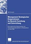 Management Strategischer Kooperationen im Bereich Forschung und Entwicklung