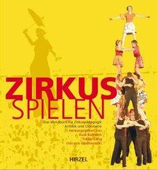 Zirkus-Spielen, m. DVD