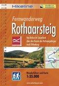Hikeline Wanderführer Fernwanderweg Rothaarsteig