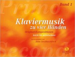 Klaviermusik zu vier Händen - Bd.1