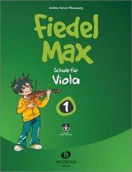 Fiedel-Max für Viola - Schule, m. Audio-CD - Bd.1