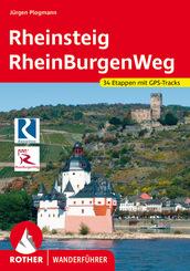 Rother Wanderführer Rheinsteig - RheinBurgenWeg