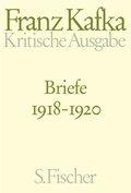 Kritische Ausgabe: Briefe 1918-1920; Bd.4