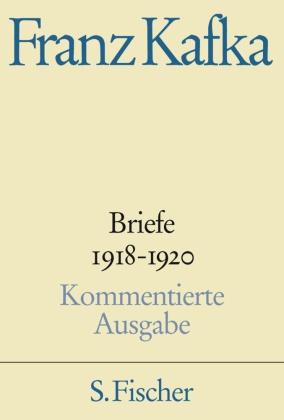 Briefe, Kommentierte Ausgabe: 1918-1920; Bd.4