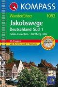 Kompass Wanderführer Jakobswege Deutschland Süd - Tl.1