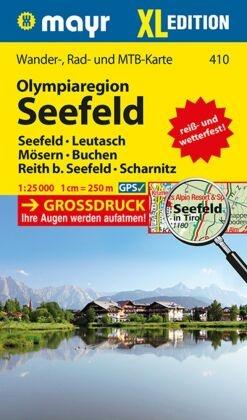Mayr Karte Olympiaregion Seefeld