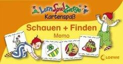 LernSpielZwerge, Kartenspaß: Schauen + Finden (Kinderspiel)