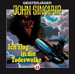 Geisterjäger John Sinclair - Ich flog in die Todeswolke, Audio-CD