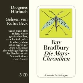 Die Mars-Chroniken, 8 Audio-CDs